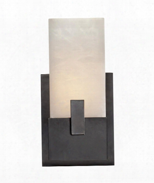 "Covet 6"" 1 Light Wall Sconce In Bronze"