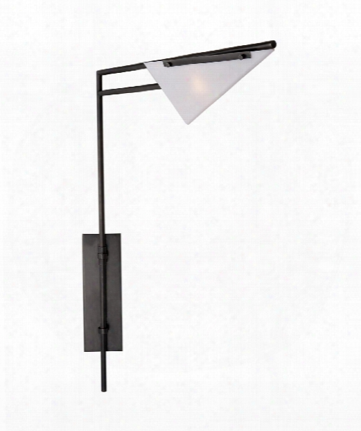 "Forma 6"" 1 Light Wall Swing Lamp In Bronze"