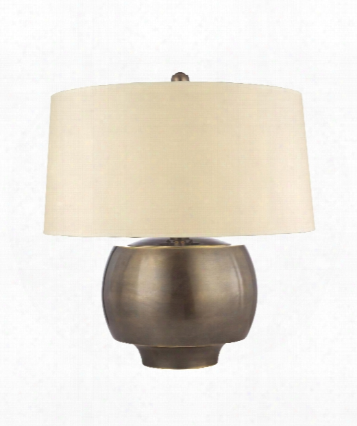 """Holden 18"""" 1 Light Table Lamp In Distressed Bronze"""