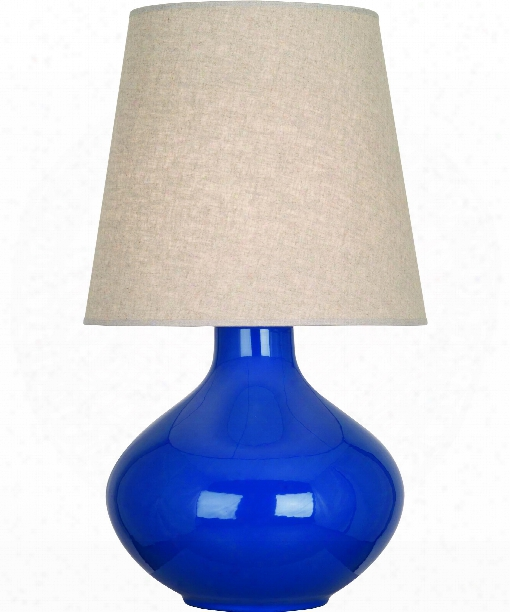 "June 8"" 1 Light Table Lamp In Polished Nickel-marine"