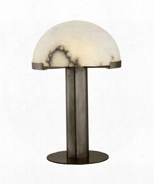 "Melange 16"" 1 Light Table Lamp In Bronze"