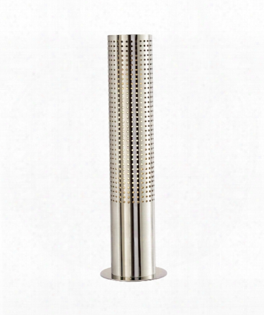 """Precision 5"""" 1 Light Table Lamp In Polished Nickel"""
