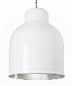 "Amphora 8"" 1 Light Mini Pendant in Gloss White"