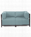 "Axis 65"" Occasional Chair in Light Blue"