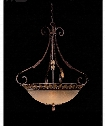 "Zaragoza 34"" 5 Light Large Pendant in Golden Bronze"