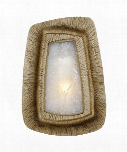 "Utopia 6"" 1 Light Wall Sconce In Gild"