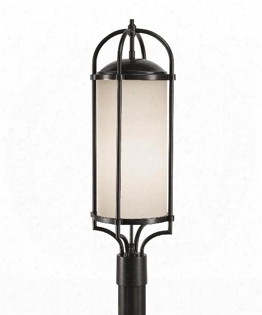 "Dakota 10"" 3 Light Outdoor Post Lamp In Espresso"
