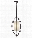 "Connor 12"" 2 Light Foyer Pendant in Oil Rubbed Bronze"