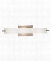 "Tubes 21"" 3 Light Bath Vanity Light in Brushed Nickel"