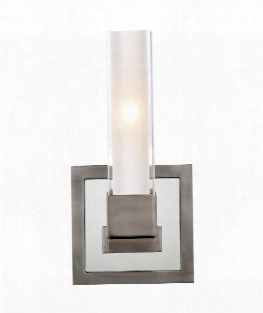 "Kendal 5"" 1 Light Wall Sconce In Antique Nickel"