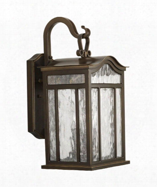 "Meadowlark 9"" 3 Light Outdoor Outdoor Wall Light In Oil Rubbed Bronze"
