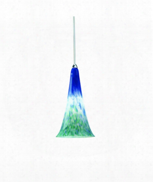 "Passion 5"" 1 Light Mini Pendant In Brushed Nickel"