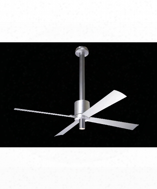 Pensi 1 Light Ceiling Fan In Aluminum-anthracite