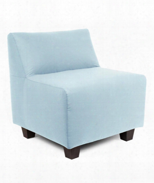 """Pod 28"""" Occasional Chair In Light Blue"""