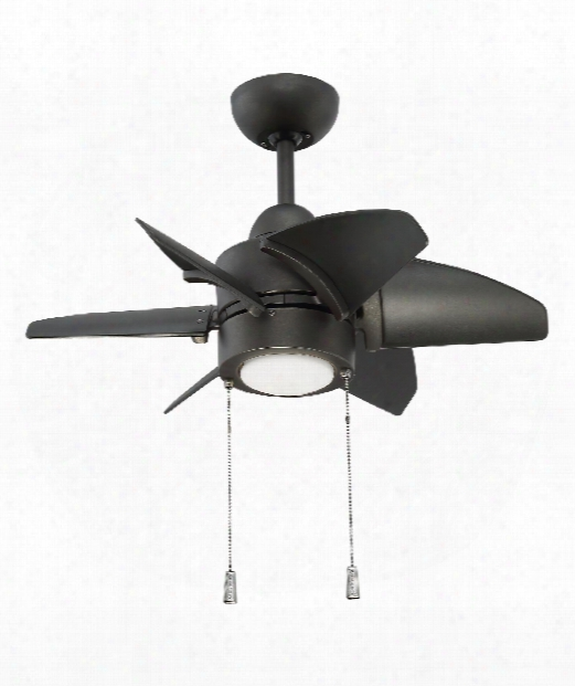 "Propel 24"" Led 1 Light Ceiling Fan In Espresso"