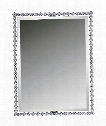 """26"""" Wall Mirror in Polished Chrome"""