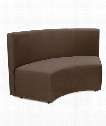 "Radius 66"" Bench in Chocolate Brown"