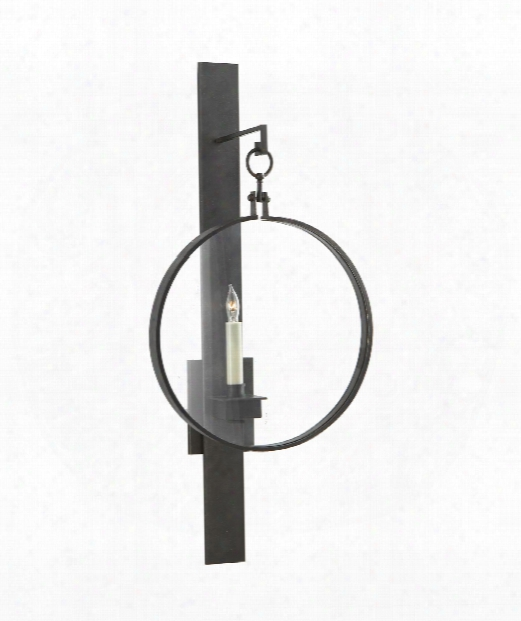 "Alice 12"" 1 Light Wall Sconce In Aged Iron"