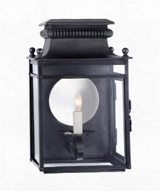 """Honore 9"""" 1 Light Outdoor Outdoor Wall Light In Blackened Copper"""