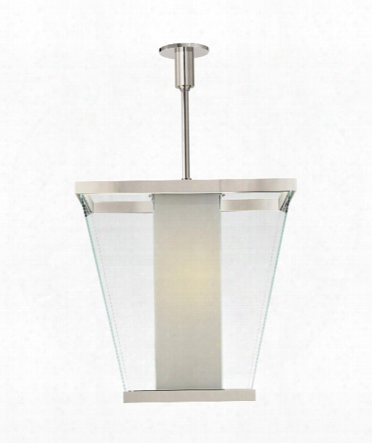 "Marin 21"" 6 Light Mini Pendant In Polished Nickel"
