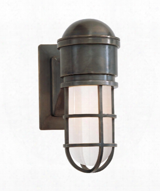 """Marine 5"""" 1 Light Wall Sconce In Bronze"""
