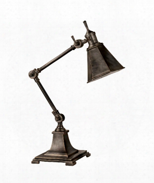 Mini Architects 1 Light Desk Lamp In Bronze
