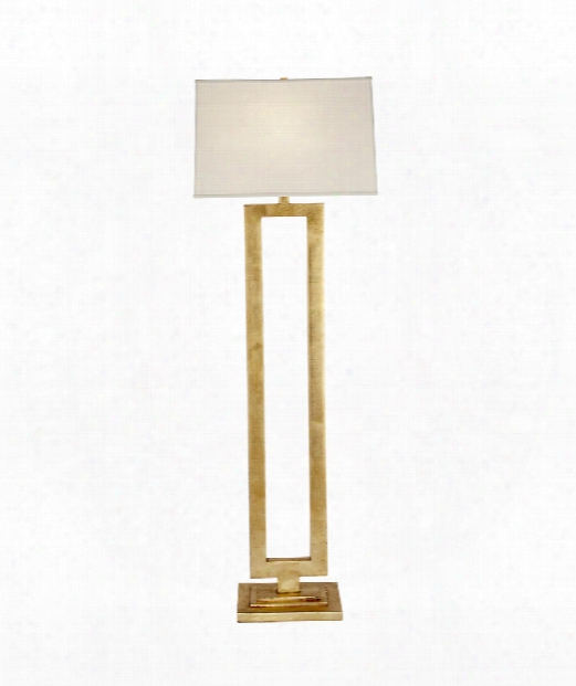 "Mod 20"" 1 Light Floor Lamp In Gild"