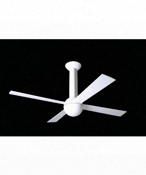 Stratos Ceiling Fan In Gloss White