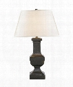 "Balustrade 16"" 1 Light Table Lamp in Aged Iron"