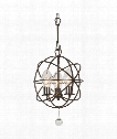 "Solaris 12"" 3 Light Outdoor Outdoor Hanging Lantern in English Bronze"