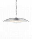 "Spindrift 23"" LED 1 Light Large Pendant in Brushed Aluminum"