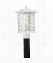 "Stonington 10"" 1 Light Outdoor Outdoor Post Lamp in Fresco"