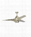 "Tempest 52"" LED 1 Light Ceiling Fan in Polished Nickel"