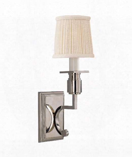 """Tyler 4"""" 1 Light Wall Sconce In Polished Nickel"""