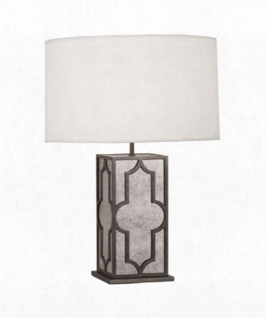 "Addison 7"" 1 Light Table Lamp In Patina Nickel"