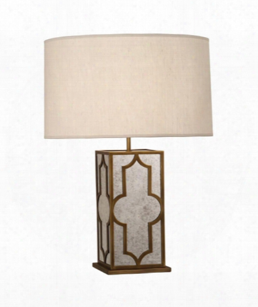 """Addison 7"""" 1 Light Table Lamp In Weath Ered Brass"""
