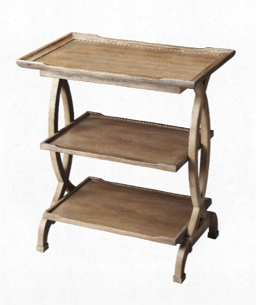 "Butler Loft 26"" End Table In Driftwood"