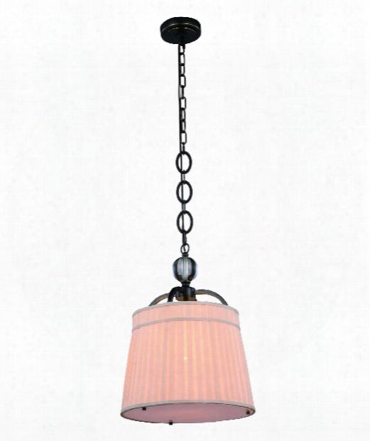 "Cara 15"" 1 Light Mini Pendant In Bronze"