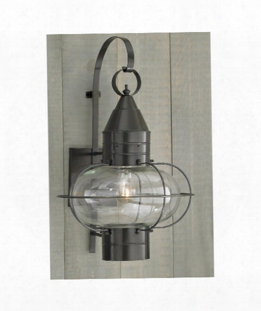 "Classic Onion 15"" 1 Light Outdoor Outdoor Wall Light In Bronze"