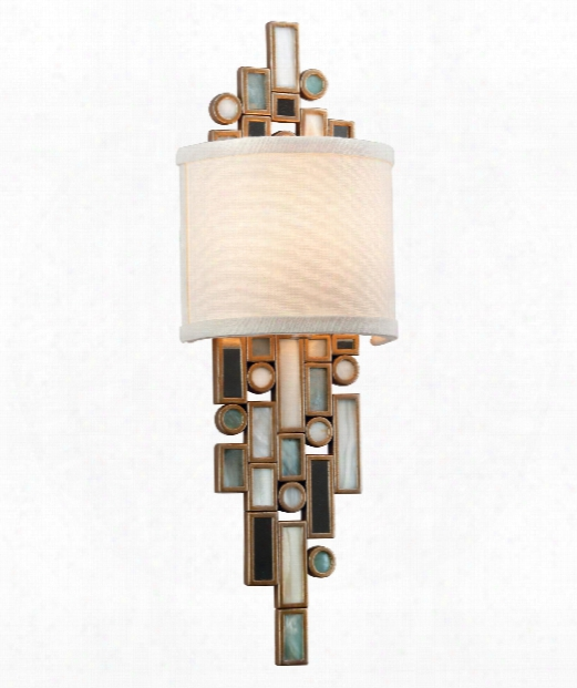 "Dolcetti 6"" 1 Light Wall Sconce In Dolcetti Silver"
