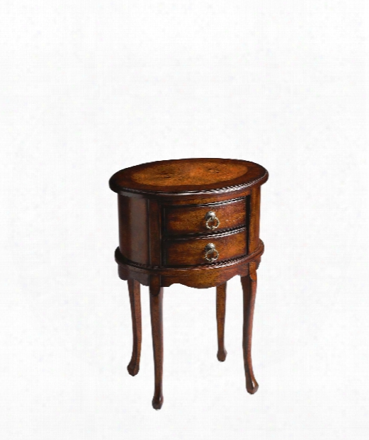 """Plantation Cherry 18"""" End Table In Plantation Cherry"""