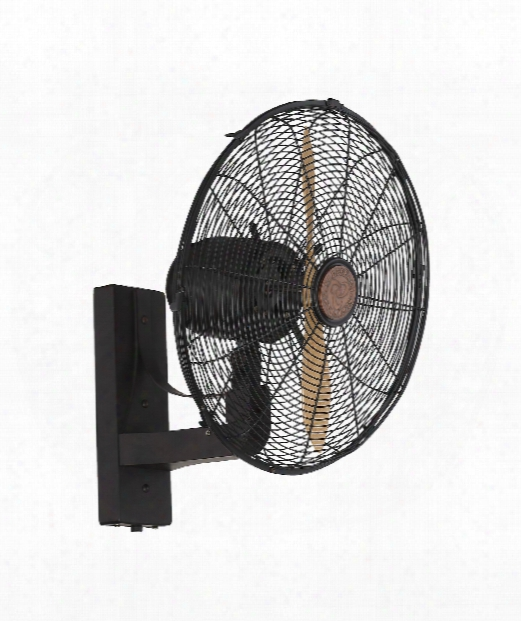 Skyy Wall Fan In English Bronze