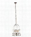 "Baltic 12"" 4 Light Mini Pendant in Polished Nickel"