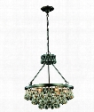 "Bettina 22"" 6 Light Large Pendant in Bronze"
