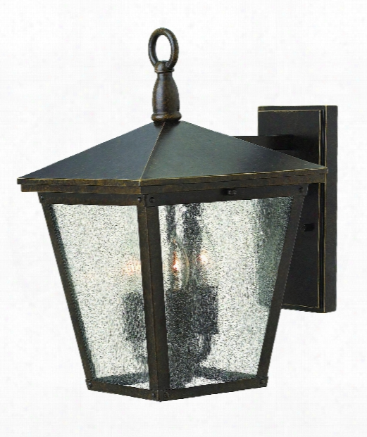 "Trellis 9"" Led 1 Light Outdoor Outdoor Wall Light Inn Regency Bronze"