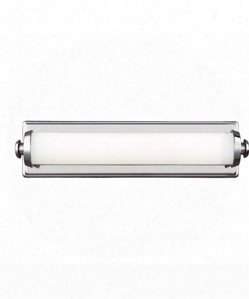 "Edgebrook 18"" Led Bath Vanity Light In Polished Nickel"