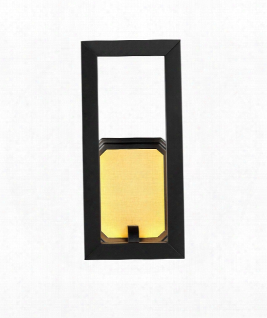 """Khloe 6"""" Led 2 Light Wall Seat In Oil Rubbed Bronze"""