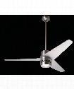 Velo Ceiling Fan in Bright Nickel