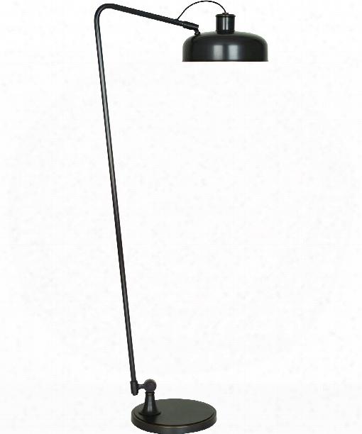 "Albert 12"" 1 Light Floor Lamp In Bronze"
