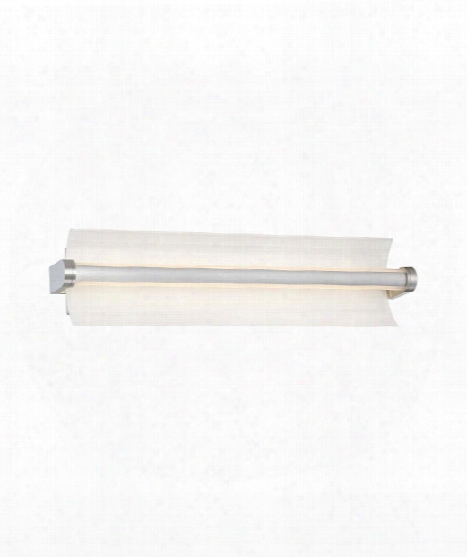 "Arko 26"" Led 1 Light Bath Vanity Light In Brushed Aluminum"